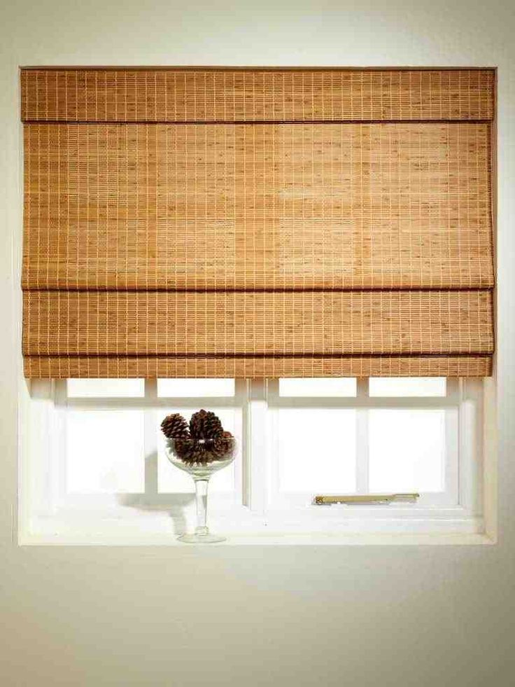 traditional bamboo blind